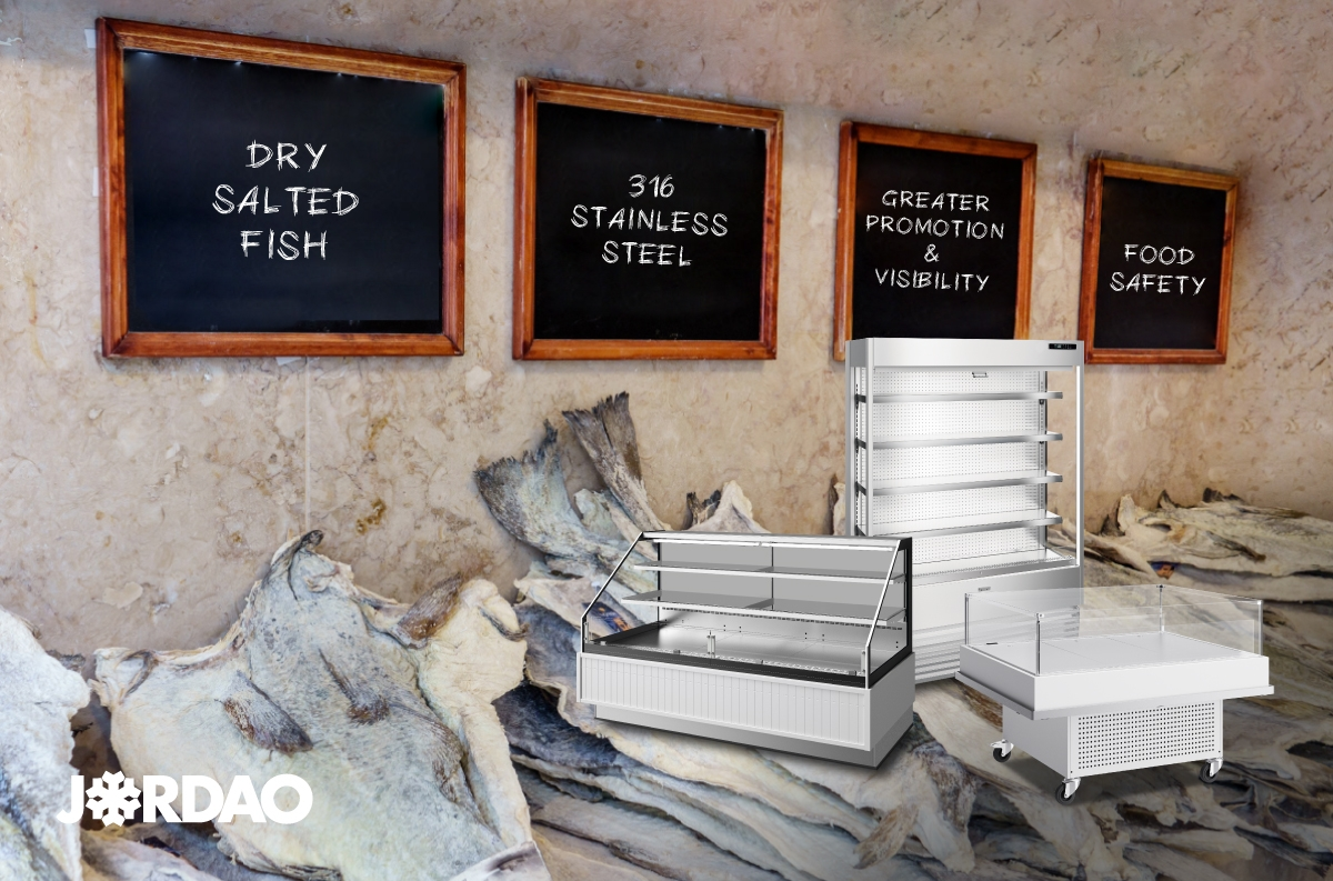 DRY SALTED FISH DISPLAYS